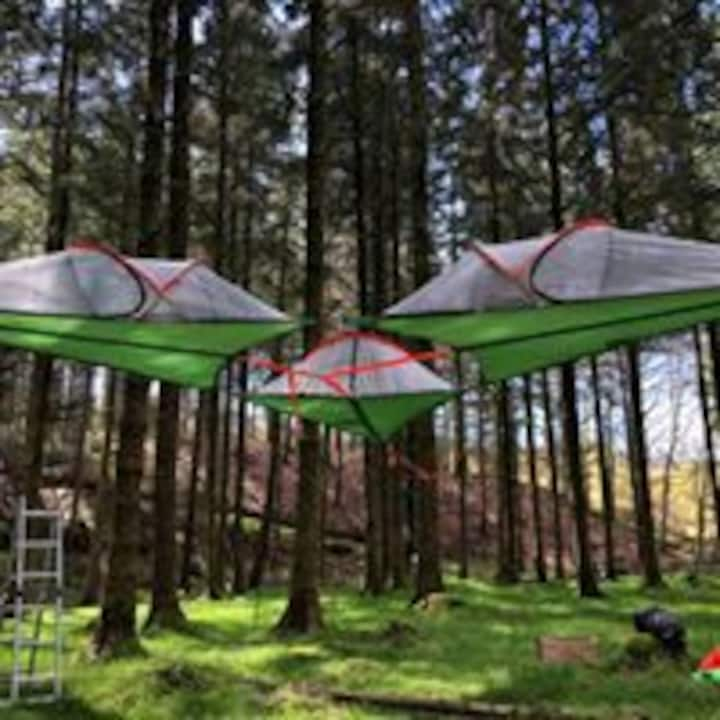Wicklow Wilderness Adventure Treetent Camps for 2