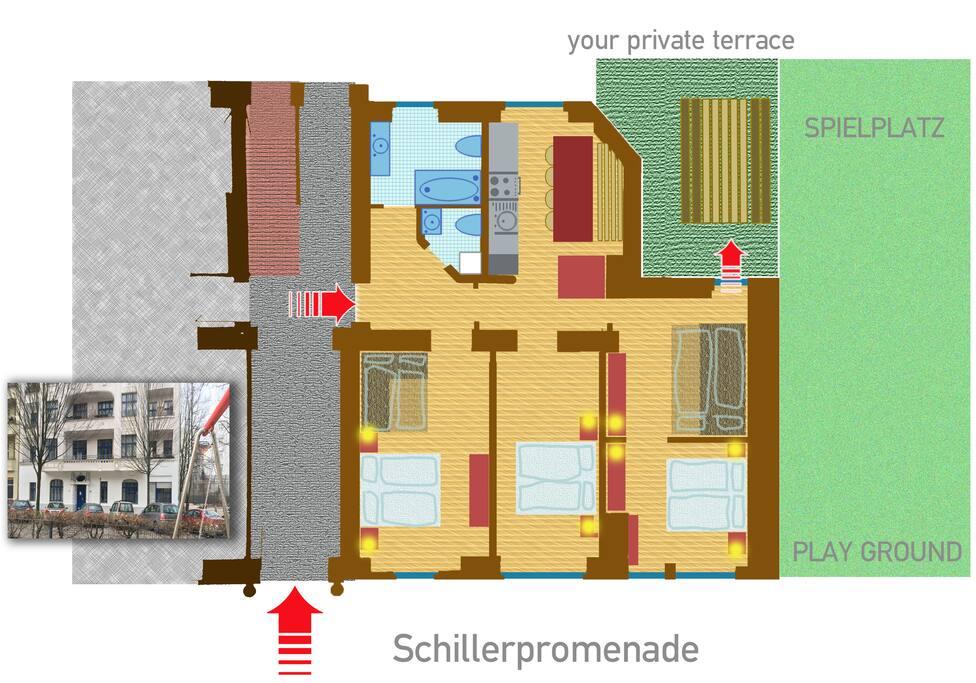 Grundriss / floor plan