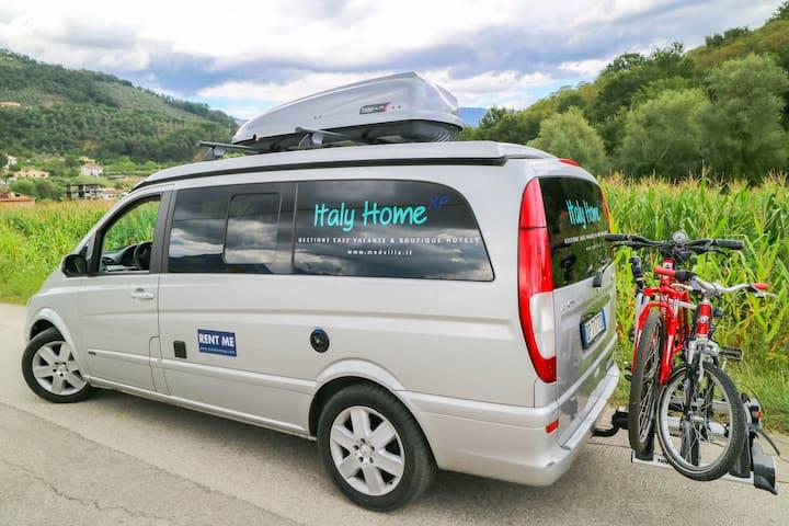 Camper van Westfalia Mercedes auto Viano MarcoPolo - Pompeii - Bobil