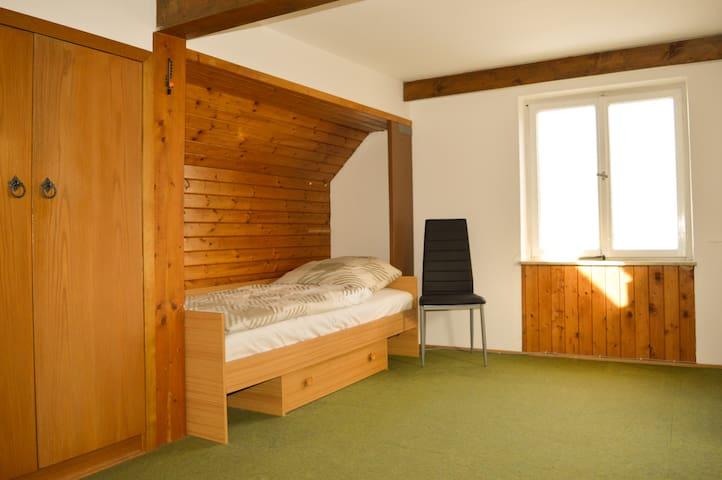 alpha-spot Weißenhorn Einzelzimmer