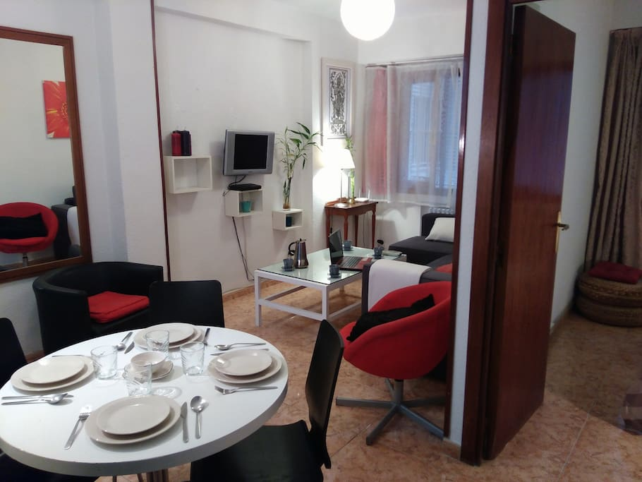 Apt chamberi malasa a 1 4 pers apartamentos en alquiler - Zona chamberi madrid ...