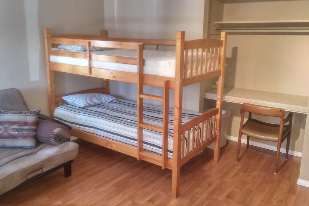 Large 7 Bed Dorm with Sofa and Desk