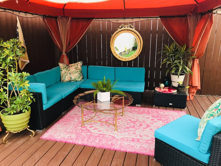 Botanical Suite + Gazebo Near French Quarter