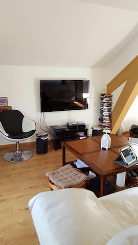 Bel F2 centre ville proche château - montbeliard  - Apartamento