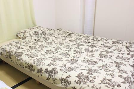 新大阪駅より5分!!畳のお部屋でゆったりくつろげるお部屋です!!D4 - 大阪市