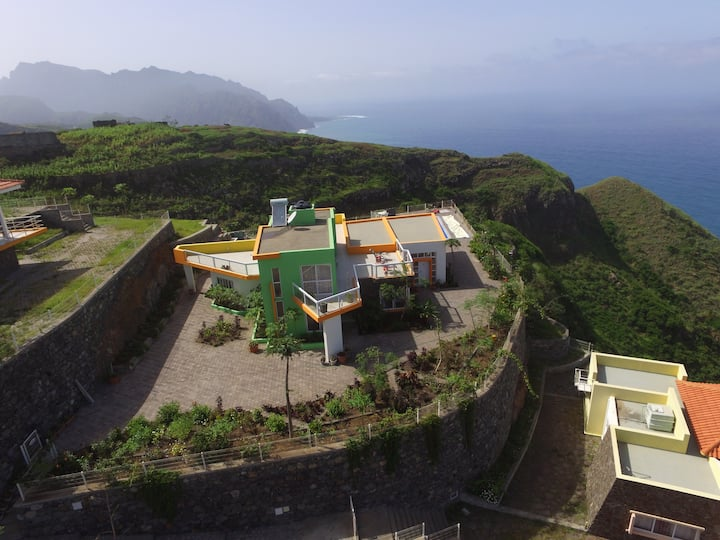 Luxury house with private pool on Santo Antao