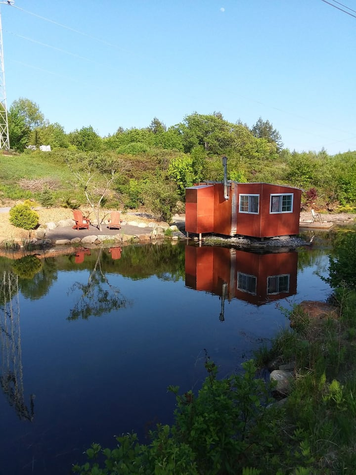 The Mini Pond Retreat and Artist Residency.