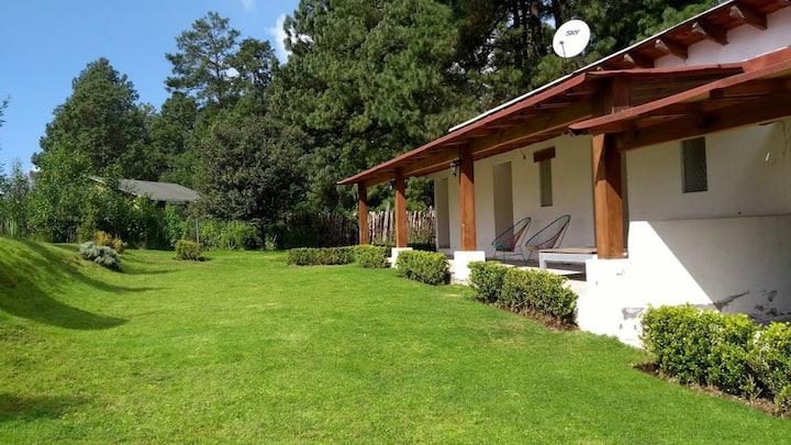 Hotel Rancho Escondido, vive  la mariposa monarca