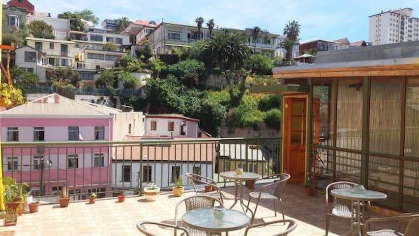 Hermoso hogar en el cerro Concepcion