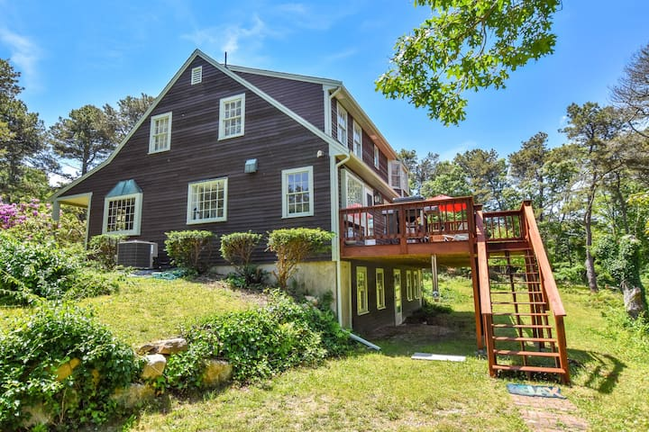 #520: Space, Privacy & Charm near Water & Conservation Land, Central AC, Hot Tub
