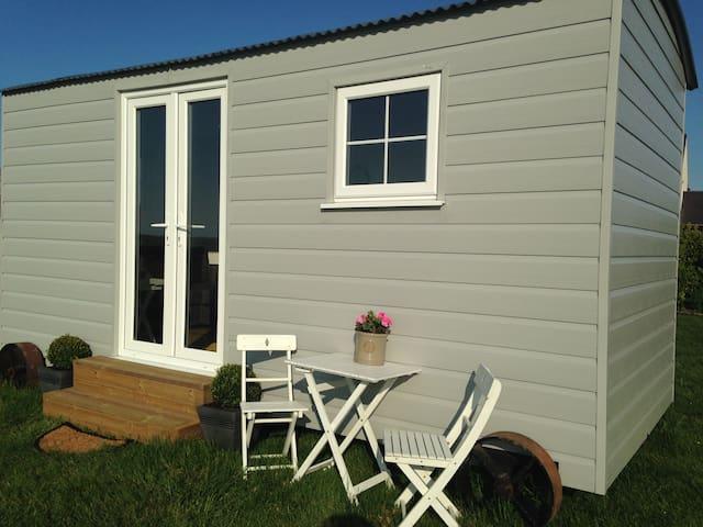 Anglesey Yurt Holidays - Shepherd's Hut 2