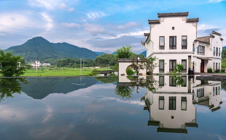近宏村|低调奢华|闲云汽车别墅|四室一厅|送早餐