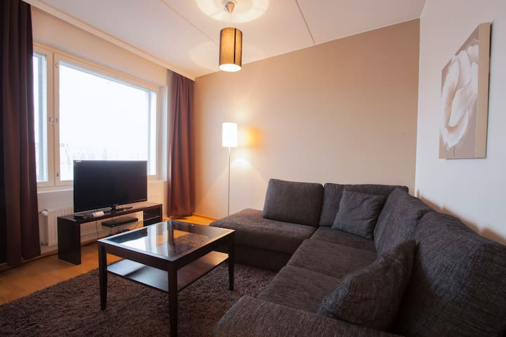 48m2 One bedroom-apt by the sea near center (C50)