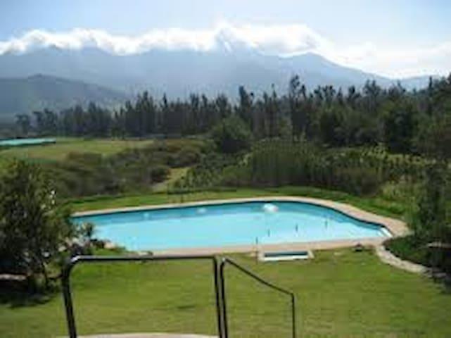 Cabaña en Reserva Ecologica - La Calera - Nature lodge