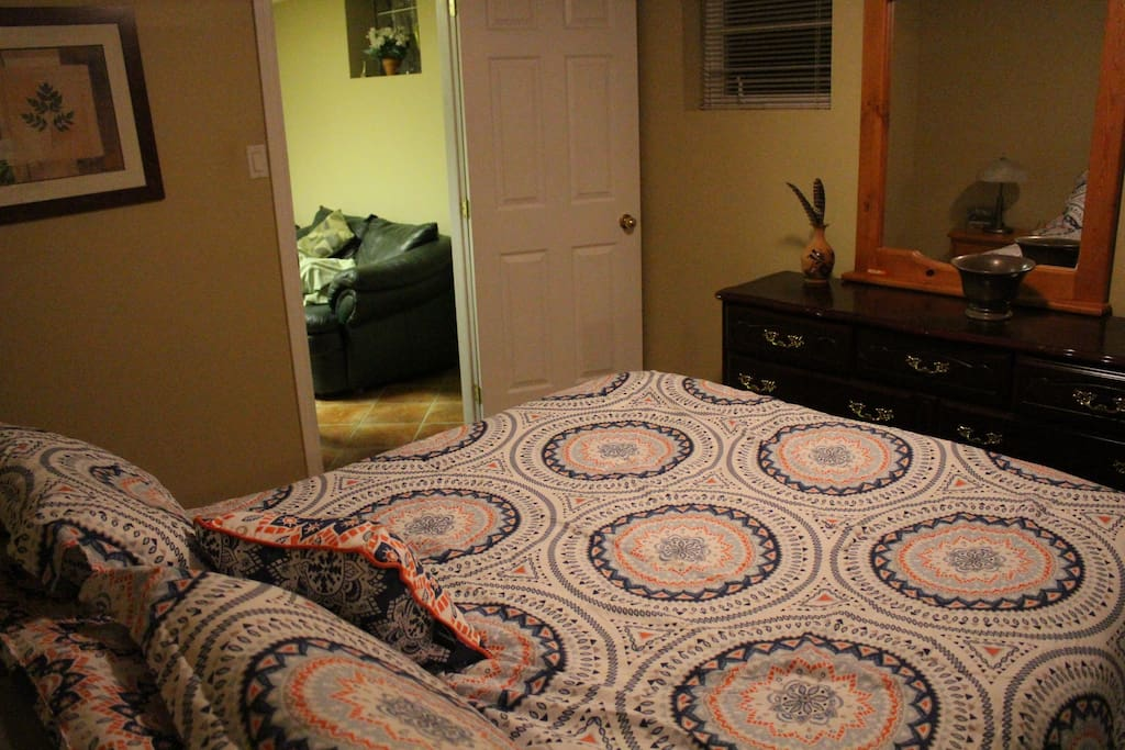 Basement main bedroom