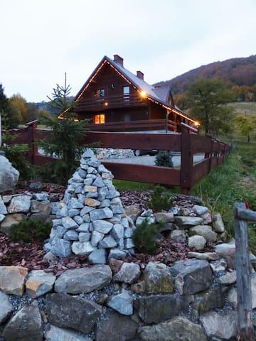 Alpejskie Chalet  OBORA - Wisła - Lomamökki