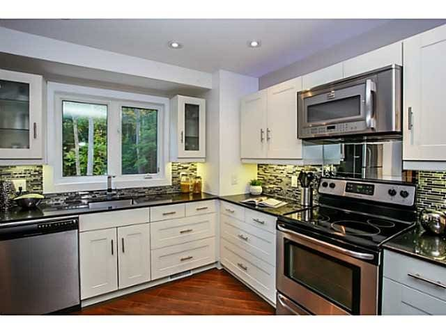 Top of the line appliance kitchen