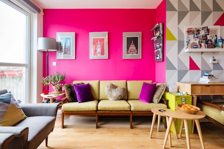 London Islington Arsenal, designer flat, sleeps 3