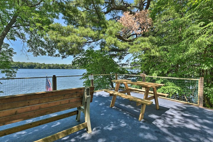 NEW! Lakefront Family Retreat w/ Private Dock!