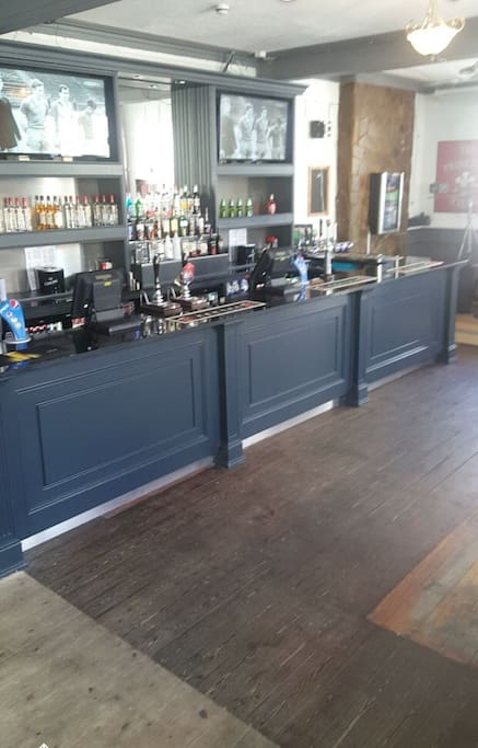 Downstairs Bar area Large TV Screens  Sky Sports Real Ales