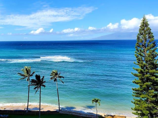 Beautiful Oceanfront View, Napili Lahaina, W. Maui