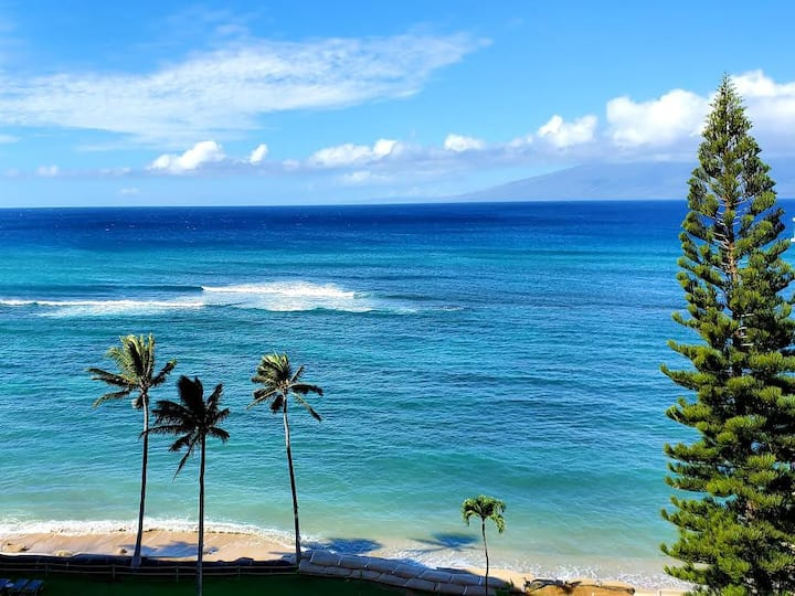Beautiful Oceanfront View, Napili Lahaina, W. Maui