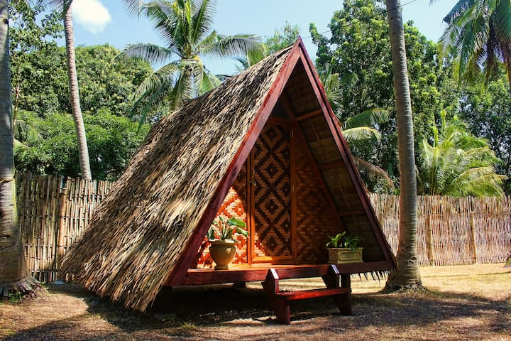 "ARCHERY-ASIA Nipa Hut ""Butterfly"" in Moalboal - Bungalow"