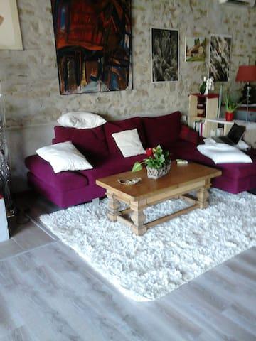 maison vigneronne rénovée - Laure-Minervois - บ้าน