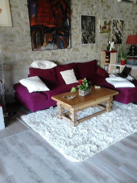 maison vigneronne rénovée