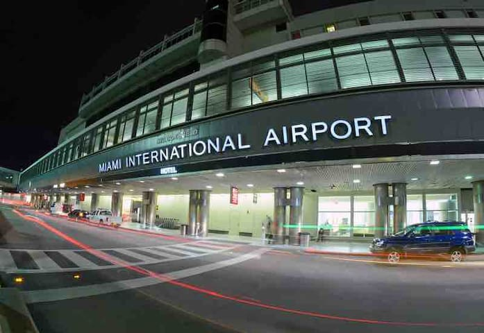 MIA Airport 5 minutes way from property