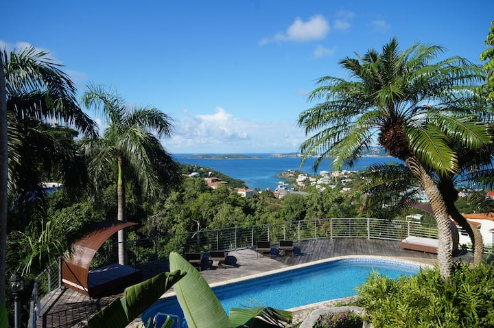 Mandavilla Rose  villa  in Cruz Bay