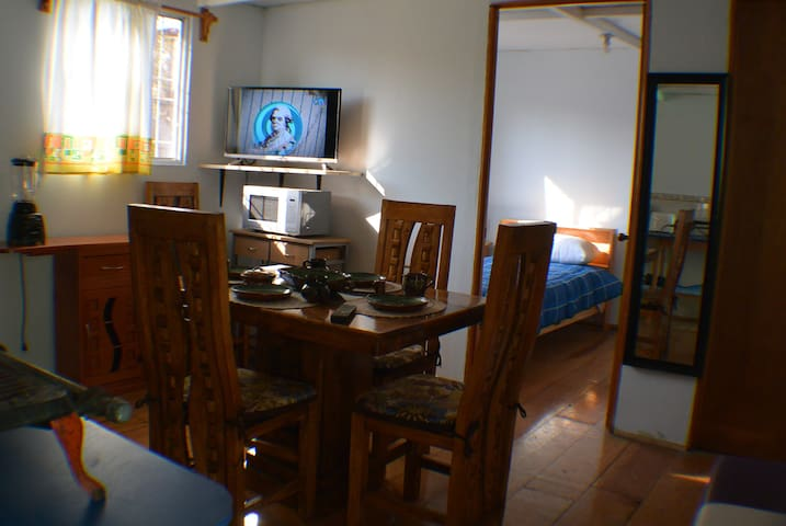 Apartment at the south of Mexico City.