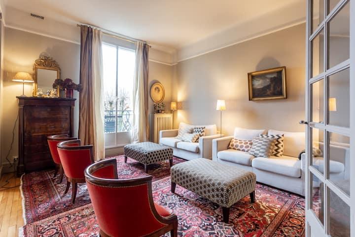 Luxe et confort Parisien :-)