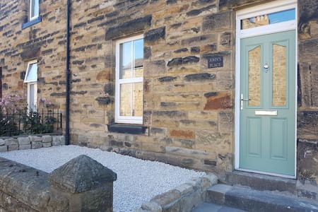 John's Place, Alnwick,  renovated with log burner