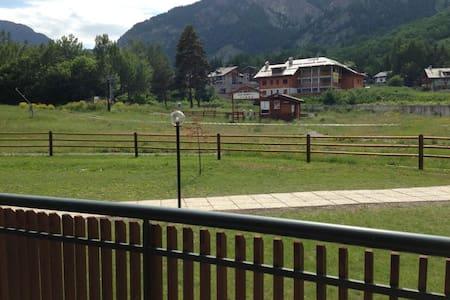 Campo Smith: Bilocale sulle piste da sci - Bardonecchia - Appartement