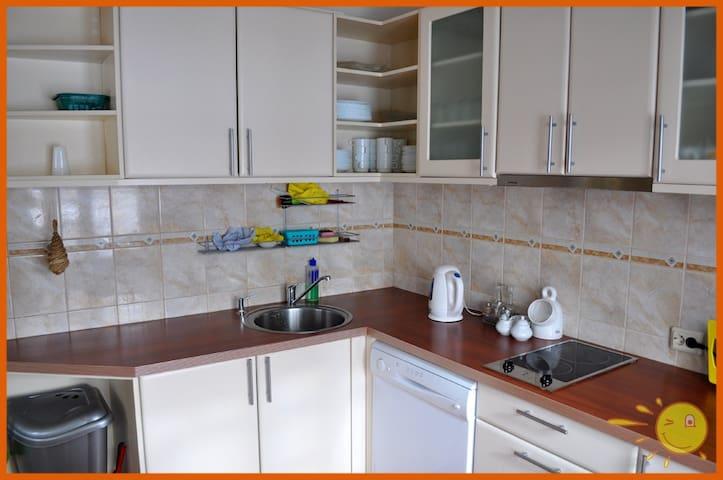 Two-room apartment near Riga - Iļķene - Huis