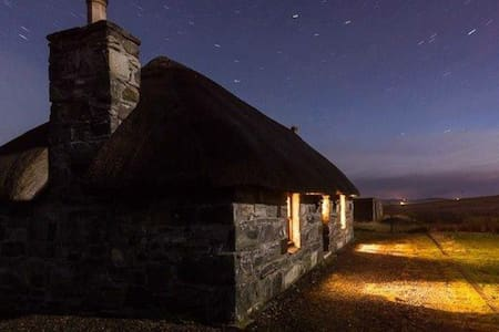 Traditional Scottish island cottage