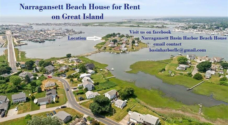Great Island Waterfront Cottage with Harbor View