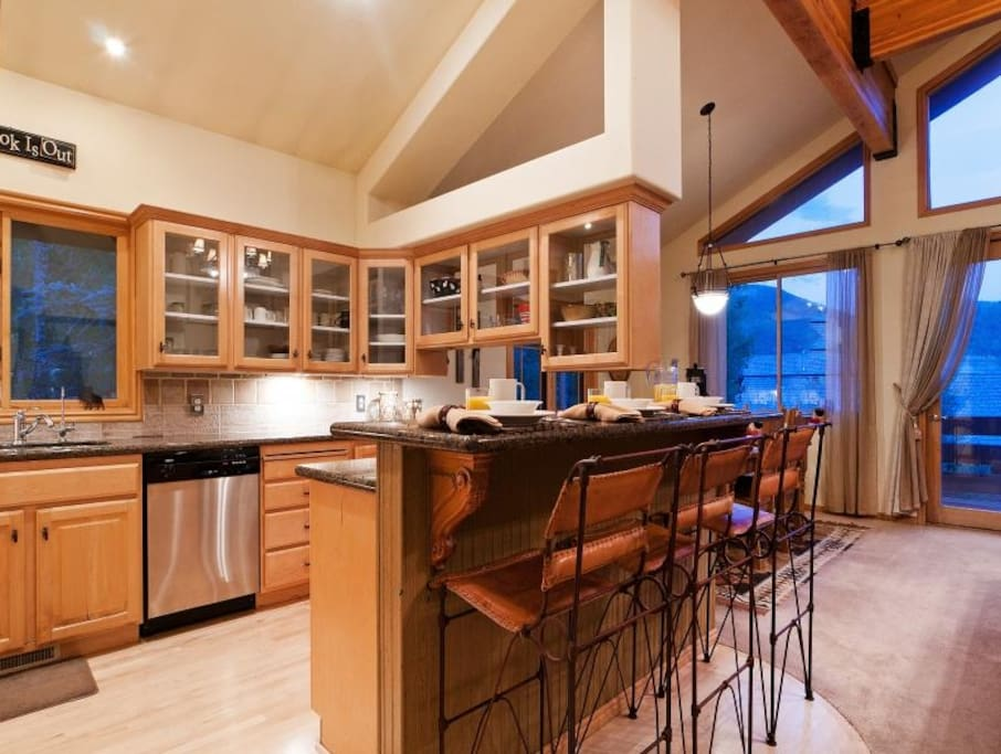 A great kitchen space