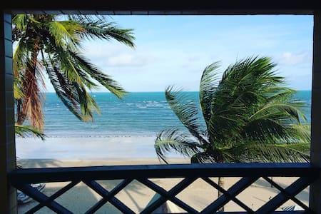 Casa Rustica na Beira Mar, durma ao som do mar - Maragogi - Rumah