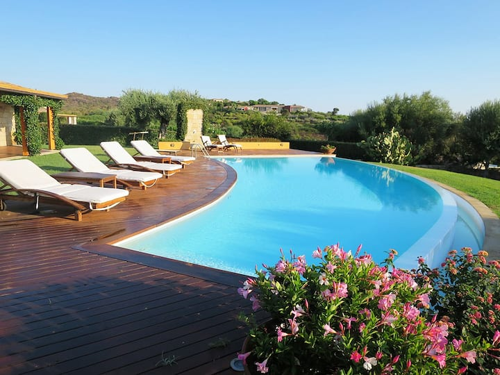 Villa Mellagrano, Sea View with Swimming Pool