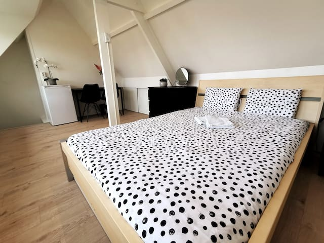 Loft near station 20 min from Amsterdam+free bikes