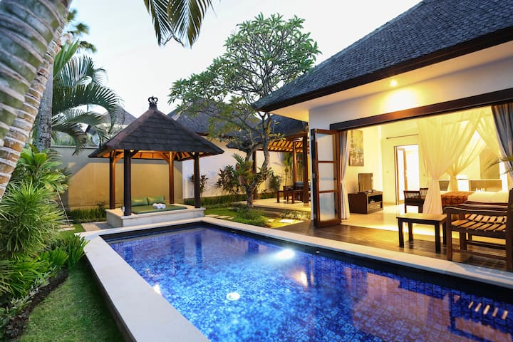 Staycation Deal at Obr Private Pool Villa Umalas