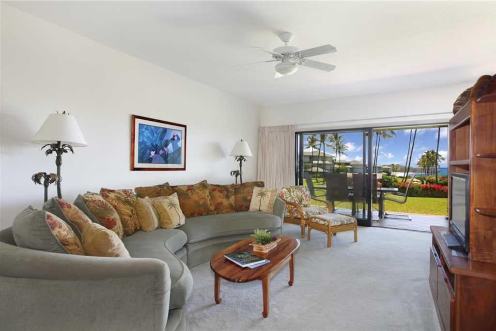 Poipu Sands 114 Living Room
