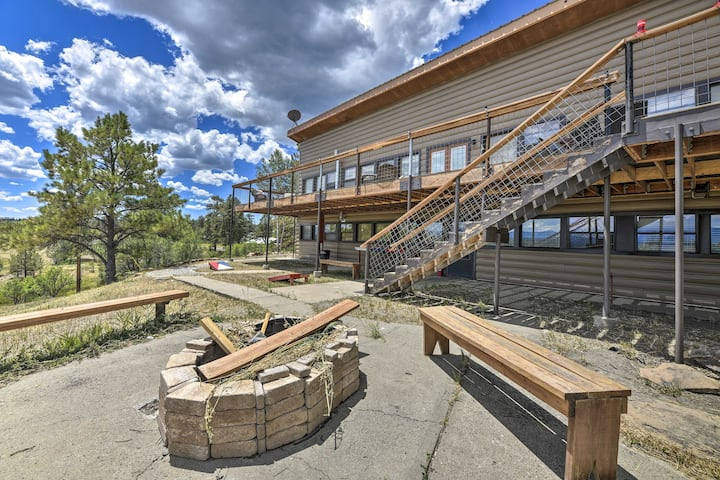 NEW! Private Home w/ Expansive Deck + Mtn Views!