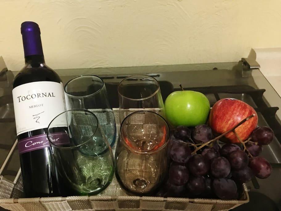 un vino para celebrar la bienvenida a nuestra tierra de la eterna primavera