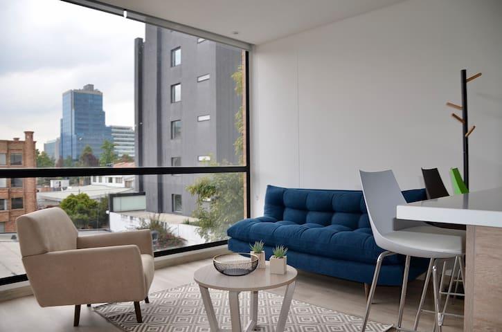 NUEVO moderno loft urbano 1 hab 5min de la 93