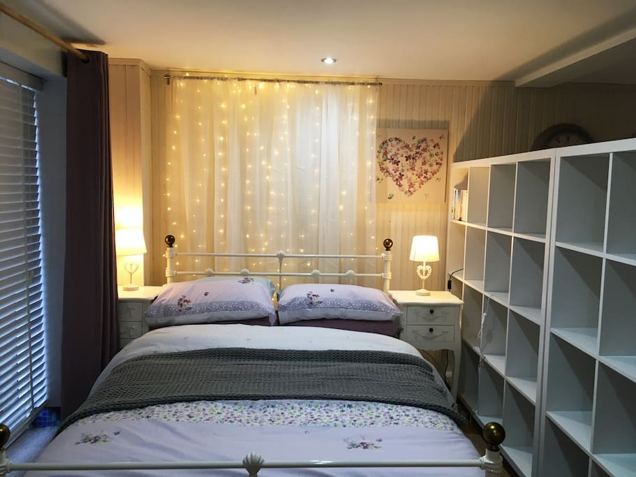 Relaxing Bedroom Area.