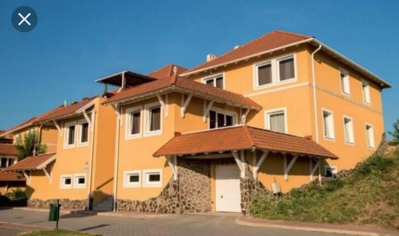 Dunaszentmikósi apartmanház