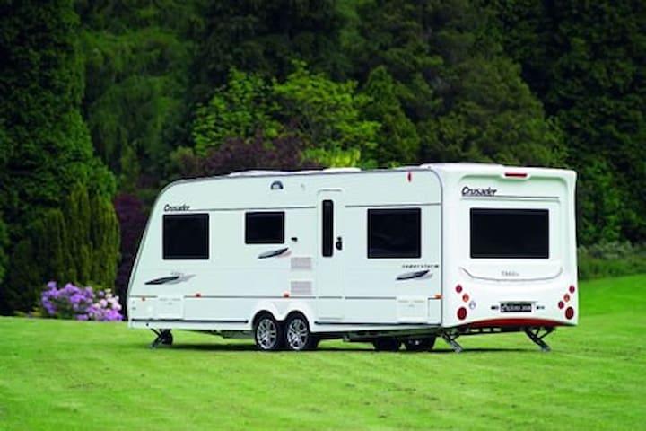 Mousley House Farm Campsite 6 berth caravan